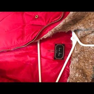 Red Puffer vest from love tree SZ Medium